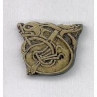 Book of Kells Dog Celtic Brooch