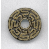 Book Of Kells maze pattern Celtic Brooch
