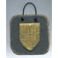Ireland slate plaque four provinces crest