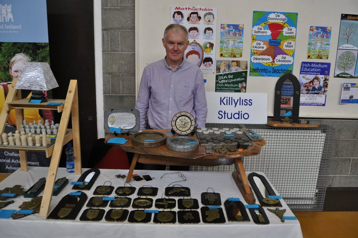 Colm at craft show August 2011